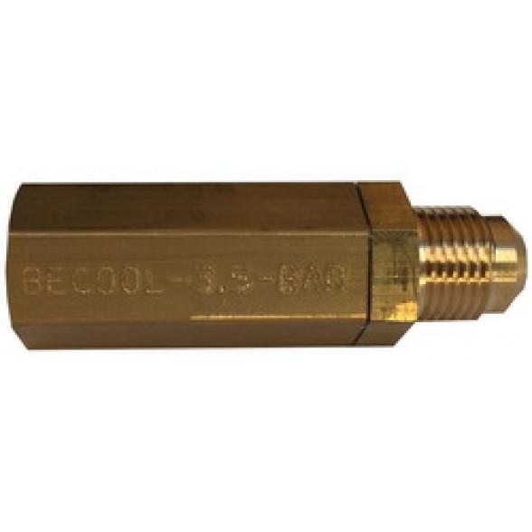 """Дифференциальный обратный клапан 3,5 бар BC-ORV-3,5H 3/8"""" MF"""