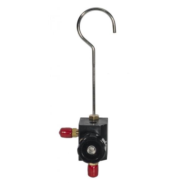 Корпус 1 вентильного коллектора с шаровым вентилем BC-1N