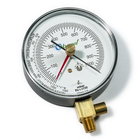 Вакууметр с предохранительным клапаном BC-VG