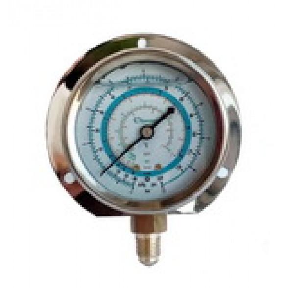 Мановакуумметр с глицерином, 63 мм (R22; R134a; R404A; R407C) BCJL-NG-63